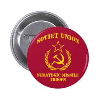 Soviet Union Strategic Missile Troops 6 Cm Round Badge