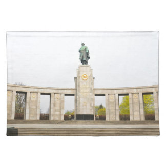 Soviet War Memorial in Berlin, Germany Placemat