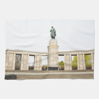 Soviet War Memorial in Berlin, Germany Tea Towel