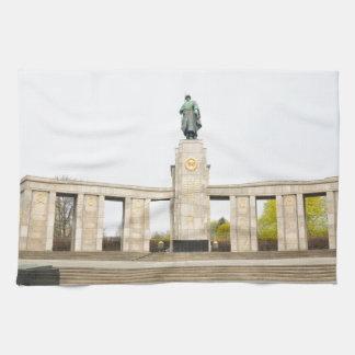 Soviet War Memorial in Berlin, Germany Towel