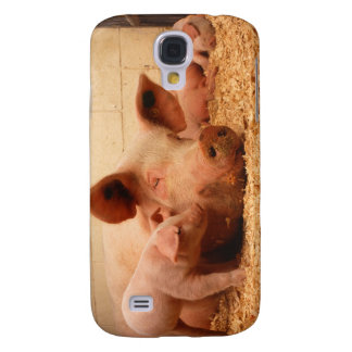 Sow and Piglets Galaxy S4 Covers