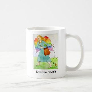 Sow the Seeds Angel Mug