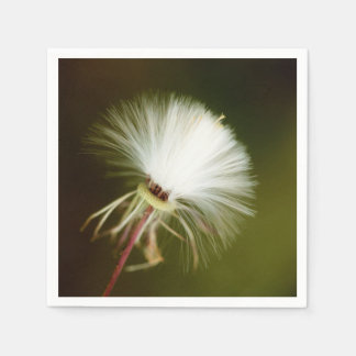 Sow Thistle Seed Pod Paper Napkin