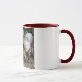Sow with Piglet Mug
