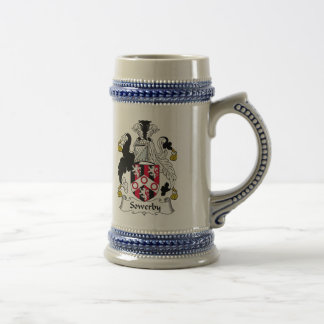 Sowerby Family Crest Beer Stein