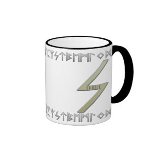 Sowilo Rune gold Mugs
