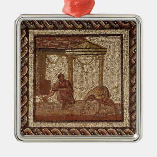 Sowing beans, from Saint-Roman-en-Gal Christmas Ornament