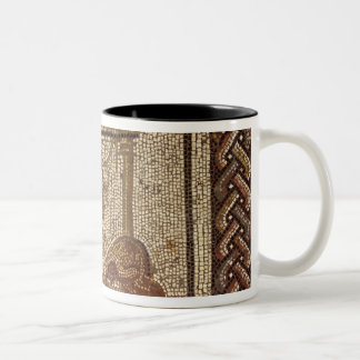 Sowing beans, from Saint-Roman-en-Gal Two-Tone Coffee Mug