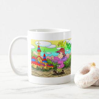 Sowing seeds coffee mug