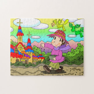 Sowing seeds jigsaw puzzle