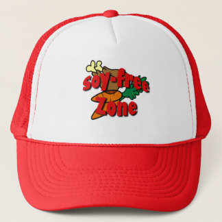 Soy-Free Zone Trucker Hat