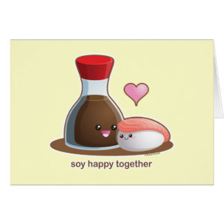 Soy Happy Greeting Cards