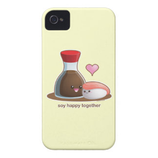 Soy Happy iPhone 4 Case