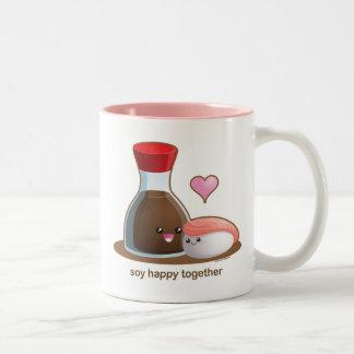 Soy Happy Mug