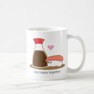 Soy Happy Together Basic White Mug