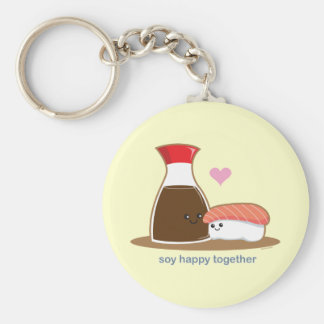 Soy Happy Together Key Ring