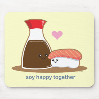 Soy Happy Together Mouse Mat