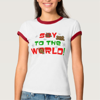Soy to the World T Shirt