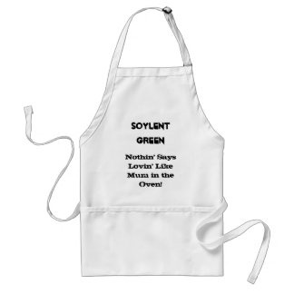SOYLENT GREEN ADULT APRON