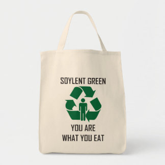 Soylent Green Organic Tote Grocery Tote Bag