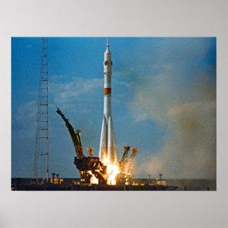 Soyuz Launch (Apollo-Soyuz Test Project) Print