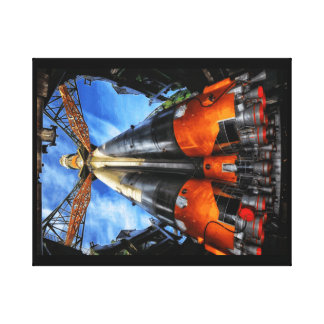 Soyuz space ship canvas print