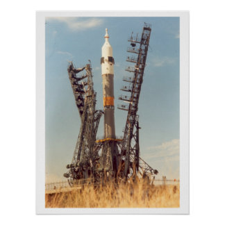 Soyuz Spacecraft and Launch Vechicle Print
