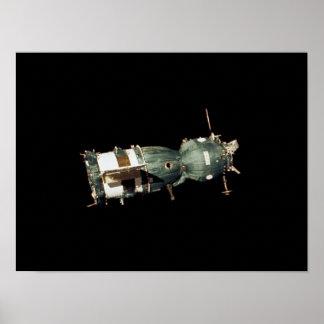 Soyuz Spacecraft (Apollo-Soyuz Test Project) Poster