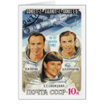 Soyuz T-7 Card