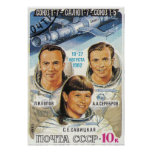 Soyuz T-7 Posters
