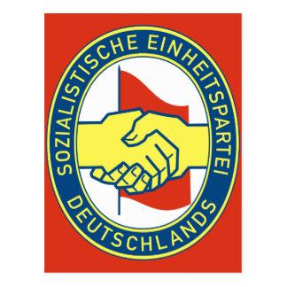 Sozialistische Einheitspartei Deutschlands Postcard
