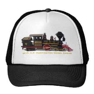 SP #1 C.P. Huntington Model Engine hat