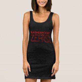 SP Zero™ Women's Red & Black Jersey Tank Dress