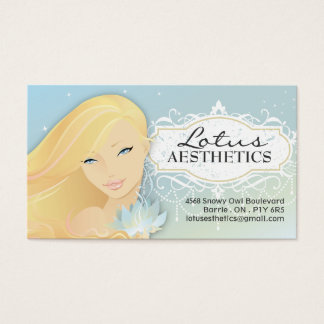 Spa and Aesthetics Business Card