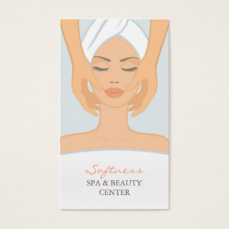 Spa and Beauty Business Card
