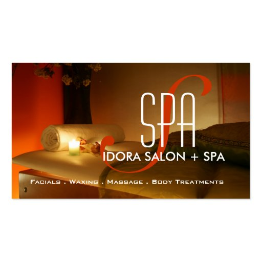 Premium massage business card templates page5 spa and massage business card template wajeb Image collections