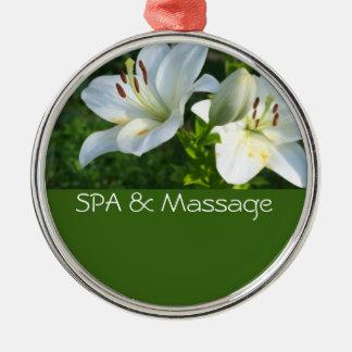 SPA and massage Christmas Ornament