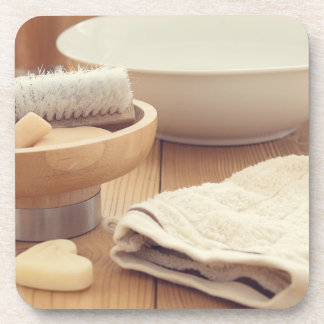 Spa and Retreat Background Drink Coasters