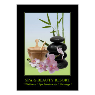 SPA & Beauty Resort Poster