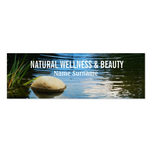 Spa beauty therapist PERSONALIZE Business Cards