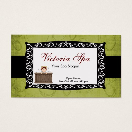 Spa Business Business Card