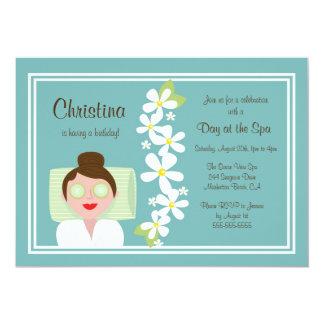 Spa Day Birthday Party Invitation
