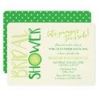 Spa Day | Let's Pamper the Bride | Bridal Shower Card