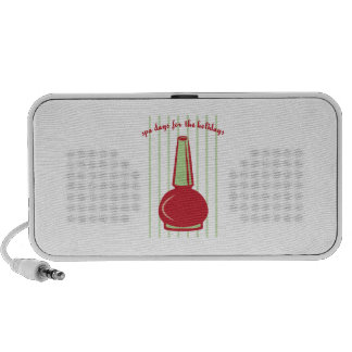 Spa Days For The Holidays Laptop Speakers