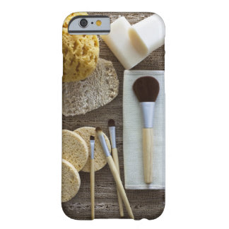 Spa detail of sponges and brushes barely there iPhone 6 case
