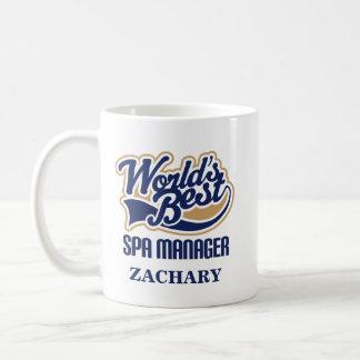 Spa Manager Personalized Mug Gift