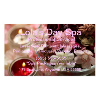 Spa & Salon Pack Of Standard Business Cards