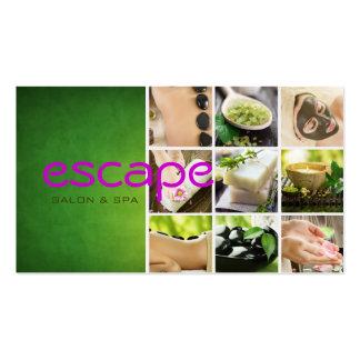 Spa Salon Sauna Banya Beauty Nails Business Card