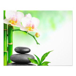 "Spa wellness beauty massage Flyer 4.5"" X 5.6"" Flyer"