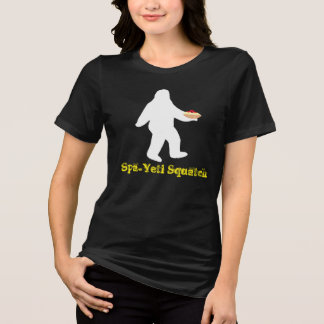 Spa-yeti Squatch - Yeti Loves Spaghetti! T-Shirt
